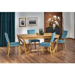 Раскладной обеденный стол 160/240 WENANTY дуб медовый