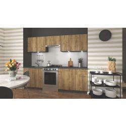 Кухонный комплект DARIA 240 дуб вотан/антрацит