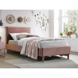 Кровать ACOMA velvet розовый BLUVEL 52 90X200