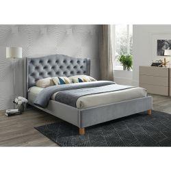 Кровать ASPEN 140 серый бархат