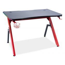 Компьютерный стол B-006 черный/красный