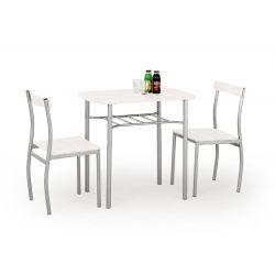 Комплект для столовой LANCE белый 2+1