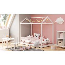 Детская кровать YOGI белая 80x160cm
