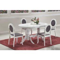 Раздвижной обеденный стол Joseph белый 150-190 cm