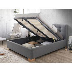 Pesukastiga voodi COPENHAGEN 160x200 hall T23