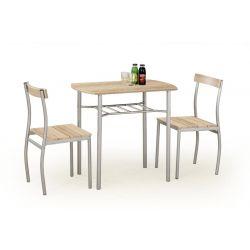 Комплект для столовой LANCE дуб сонома  2+1