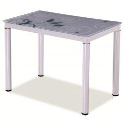 Обеденный стол DAMAR 80x60 белый