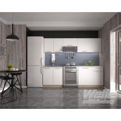 Köögikomplekt DARIA 240 sonoma/valge