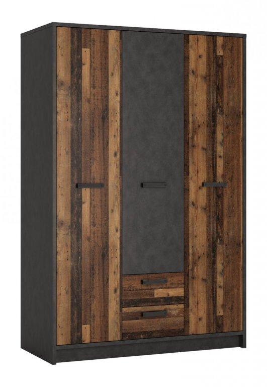 Riidekapp NUBI NUBS02 128cm